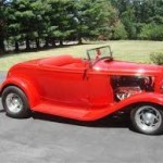 Red Roadster with Red Upholstery