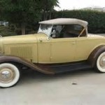 1932 Ford Roadster - Cream